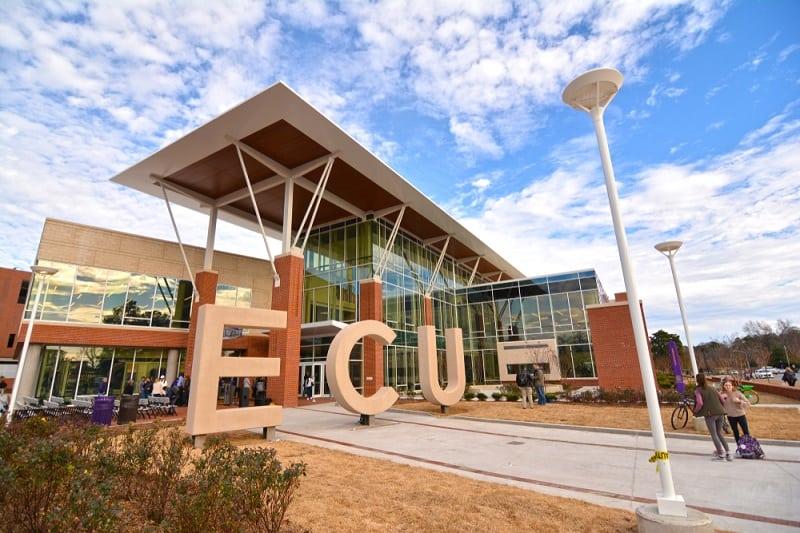 East,Carolina,University's,Main,Campus,Student,Center,Opened,On,January
